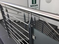 Fertigung und Montage Geländer