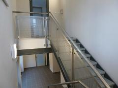 Fertigung und Montage Geländer, komplette Ausführung in Edelstahl