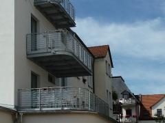 Balkone Bosestraße
